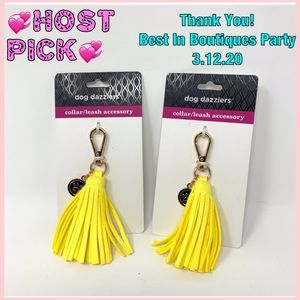 🛑Dog Dazzlers Collar/Leash Tassel Accessory